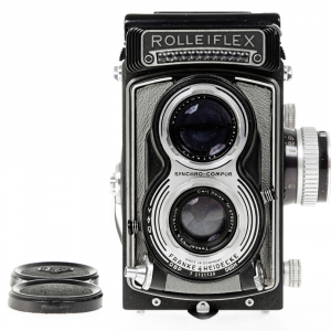 Rolleiflex T- Grey, Carl Zeiss-Tessar 1/3.5 F-75mm3