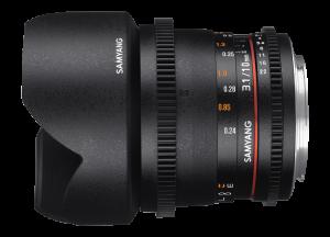Samyang 10mm T3.1 VDSLR ED AS NCS CS II - Canon EF-S1