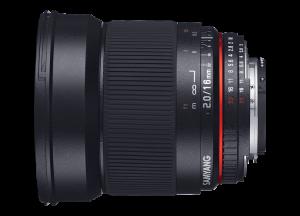 Samyang 16mm f/2 ED AS UMC CS - Canon EF-S1