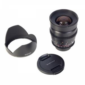Samyang 24mm T1.5 VDSLR - montura Canon EF4