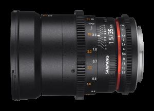 Samyang 35mm T1.5 VDSLR AS UMC II - Canon EF1