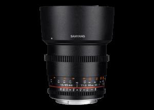 Samyang 85mm T1.5 VDSLR AS IF UMC II - Nikon F - Cine Lens0