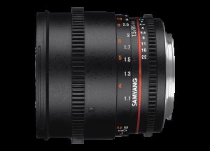 Samyang 85mm T1.5 VDSLR AS IF UMC II - Nikon F - Cine Lens1