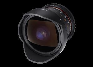 Samyang 8mm T3.8 VDSLR UMC Fish-eye CS II - Canon EF-S - Cine Lens3