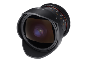 Samyang 8mm T3.8 VDSLR UMC Fish-eye CS II - Nikon F - Cine Lens3
