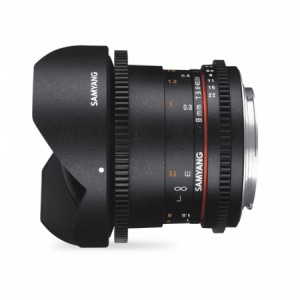 Samyang 8mm T3.8 VDSLR UMC Fisheye CS II - Micro 4/33