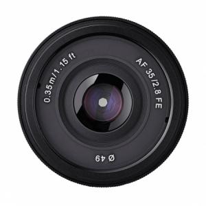 Samyang AF 35mm F2.8 - Sony FE, Negru4