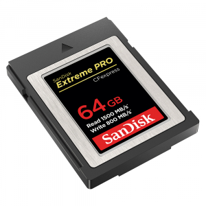 SanDisk Extreme PRO CFexpress Type B 64GB (SDCFE-064G-ANCIN) [1]