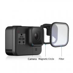 Filtre de tip CPL ND8/16/32 cu inel magnetic de conectare pentru GoPro 8 - GP ‑ FLT ‑ 807 [0]