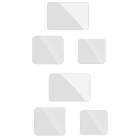 Set folii de protectie pentru ecranele GoPro Hero 9 transparent - negru - GP-FLM-901 [0]