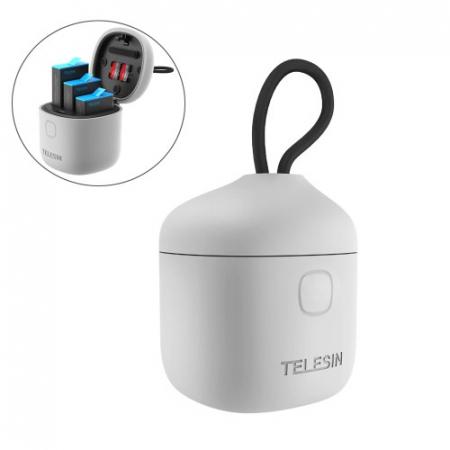 All-in Box Incarcator  & Cititor Card microSD & Cutie de pastrare pentru baterii GoPro Hero9 (fără baterie) - GP-BTR-904 [0]