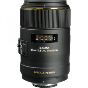 Sigma 105mm f/2.8 EX DG OS HSM Macro - montura  Nikon [1]