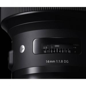 SIGMA 14mm f/1.8 DG HSM ART- Canon EF6