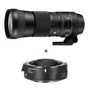Sigma 150-600mm f/5-6.3 DG OS HSM Canon - Contemporary + teleconvertor Sigma 1.4x TC-14010
