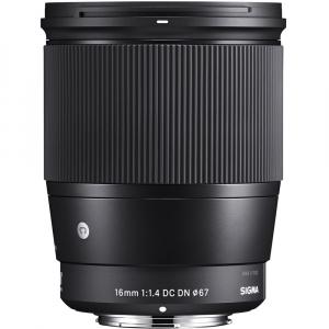 Sigma 16mm f/1.4 DC DN Contemporary obiectiv Mirrorless montura Canon EF-M1