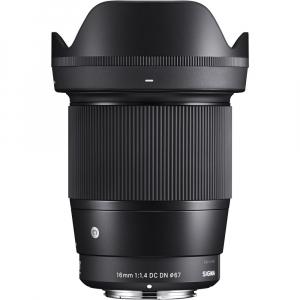 Sigma 16mm f/1.4 DC DN Contemporary obiectiv Mirrorless montura Canon EF-M2