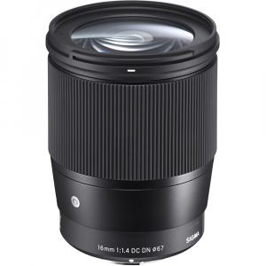 Sigma 16mm f/1.4 DC DN Contemporary obiectiv Mirrorless montura Canon EF-M0