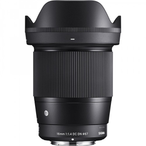 Sigma 16mm f/1.4 DC DN Contemporary - obiectiv Mirrorless montura MFT2