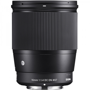 Sigma 16mm f/1.4 DC DN Contemporary - obiectiv Mirrorless montura MFT1