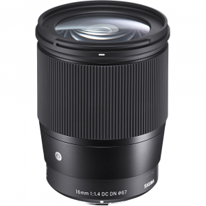 Sigma 16mm f/1.4 DC DN Contemporary -   obiectiv Mirrorless montura Sony E0