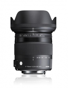 Sigma 17-70mm f/2.8-4 DC Macro OS HSM  -  Contemporary  pt Canon EOS0