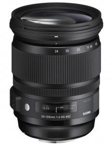 Sigma 24-105mm f/4 DG OS HSM ART - montura Canon EF0