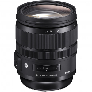 SIGMA 24-70mm f/2.8 OS DG HSM ART- Canon EF0