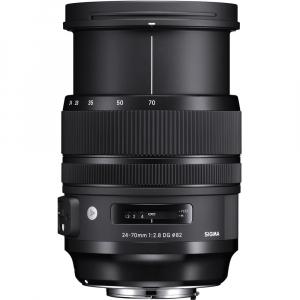 SIGMA 24-70mm f/2.8 OS DG HSM ART- Canon EF3