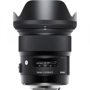 Sigma 24mm f/1.4 DG HSM ART - montura  Nikon0