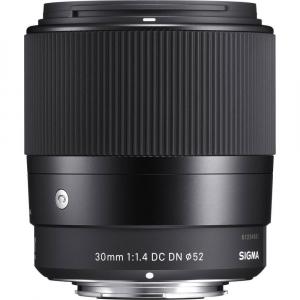 Sigma 30mm f/1.4 DC DN Contemporary negru -  obiectiv Mirrorless montura MFT1