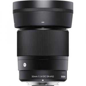 Sigma 30mm f/1.4 DC DN Contemporary negru -  obiectiv Mirrorless montura MFT2
