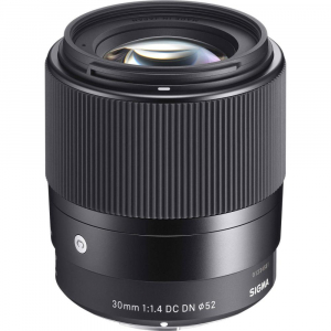 Sigma 30mm f/1.4 DC DN Contemporary negru -  obiectiv Mirrorless montura Sony E0