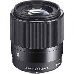 Sigma 30mm f/1.4 DC DN Contemporary negru -  obiectiv Mirrorless montura Sony E [0]