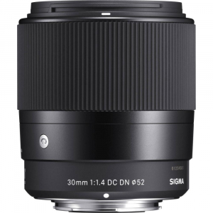 Sigma 30mm f/1.4 DC DN Contemporary negru -  obiectiv Mirrorless montura Sony E1