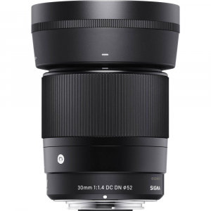 Sigma 30mm f/1.4 DC DN Contemporary negru -  obiectiv Mirrorless montura Sony E2