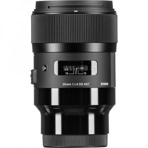 Sigma 35mm  f/1.4 DG HSM ART , obiectiv Mirrorless montura Panasonic L4