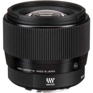 Sigma 56mm f/1.4 DC DN Micro Contemporary -  obiectiv Mirrorless montura Canon EOS-M3