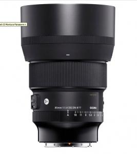 Sigma 85mm Obiectiv Foto Mirrorless F1.4 DG DN Art Mark II Montura Panasonic L [1]