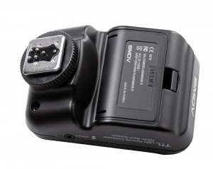 SMDV FlashWave-5 TX - transmiter TTL pentru blitz-ul Briht 360 - patina Canon5