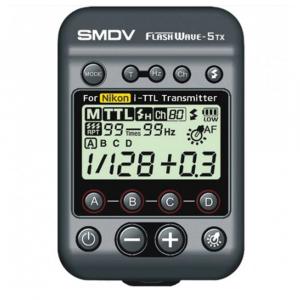 SMDV FlashWave-5 TX - transmiter TTL pentru blitz-ul Briht 360 - patina Nikon [0]
