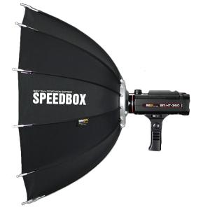 SMDV Speedbox-A110 , softbox dodecagon + GRID , cu montura SB-07 pt blitz-ul BRiHT 360 TTL1