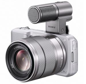 Sony ECM-SST1 - Microfon stereo pentru seria NEX0