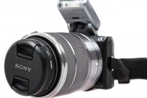 Sony NEX-5N kit cu ob.18-55mm ,  Aparat foto mirrorless - Second Hand1