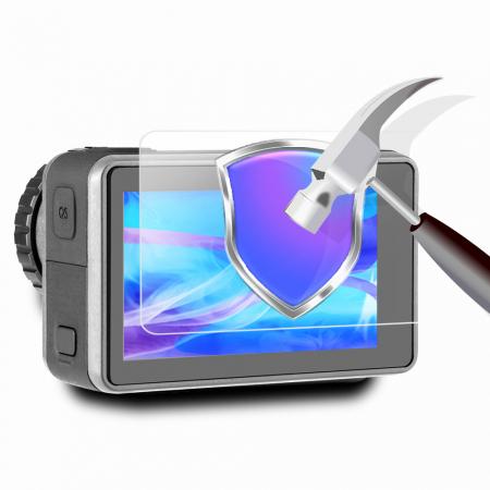Set ecran din sticlă tratată și capac protector pentru obiective pentru DJI OSMO - OS-TFM-003 [0]