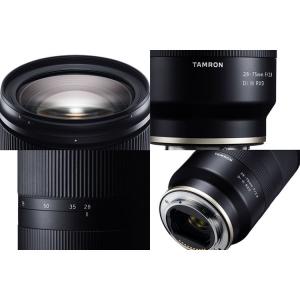 Tamron 28-75mm f/2.8 Di III RXD -   obiectiv Mirrorless montura Sony E3