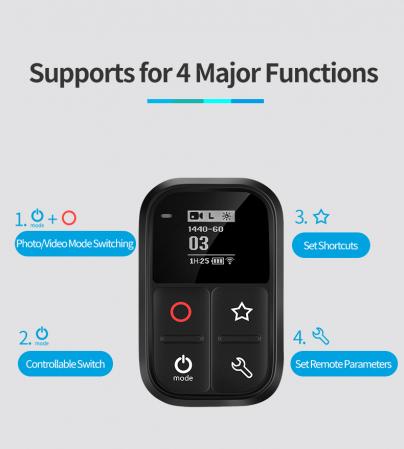 Telecomandă wifi pentru Gopro 5,6,7,8 - GP-RMT-T02 [1]