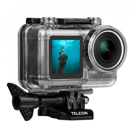Telesin  Carcasă de protecție impermeabilă pentru scufundări cu DJI OSMO OS-WTP-002 40M [2]