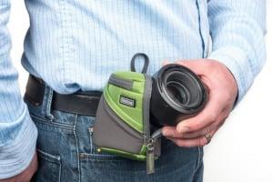 ThinkTank Lens Case Duo 5 Green - toc obiective5
