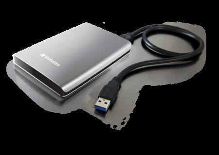 Verbatim HDD Extern Store 'n' Save  2TB USB 3.0  Silver [0]
