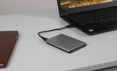 Verbatim HDD Extern Store 'n' Save  2TB USB 3.0  Silver [9]